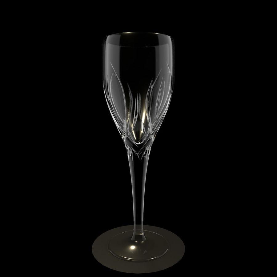 Verre de vin royalty-free 3d model - Preview no. 3