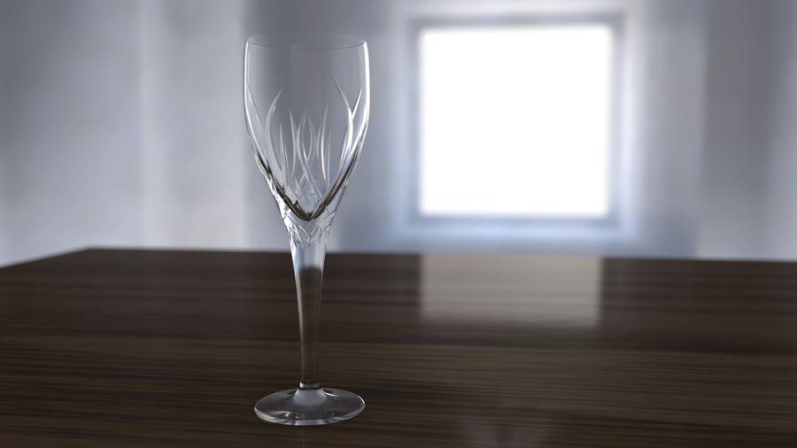 Бокал для вина royalty-free 3d model - Preview no. 5
