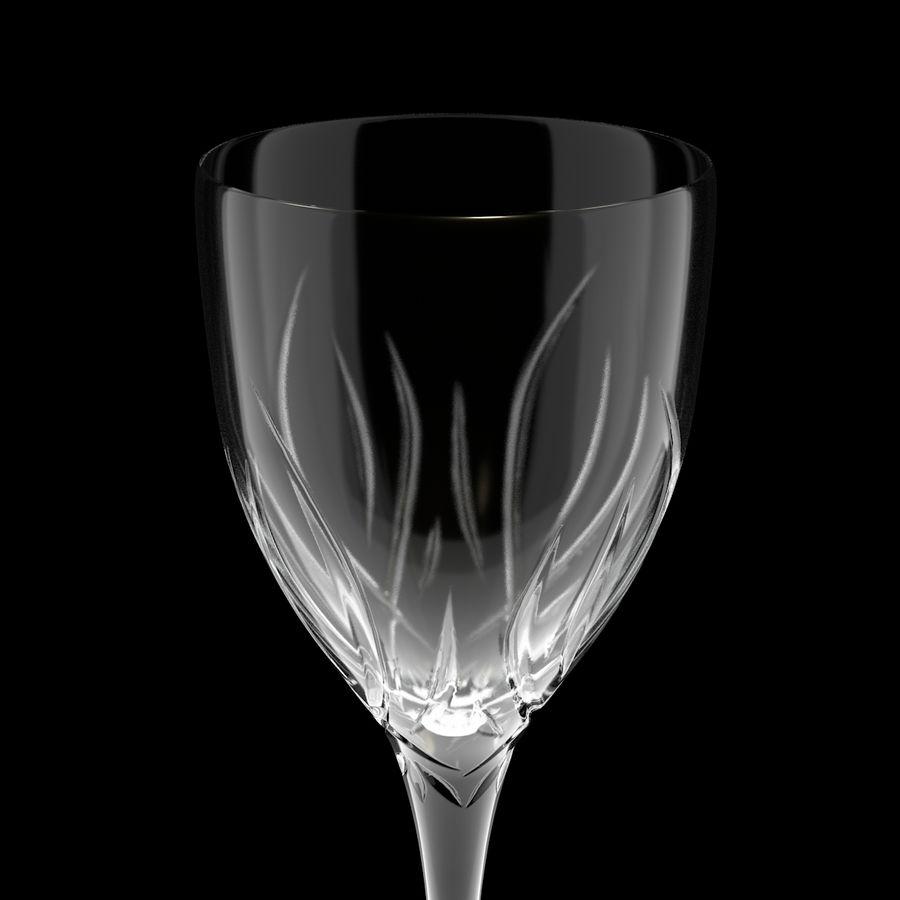 Бокал для вина royalty-free 3d model - Preview no. 4