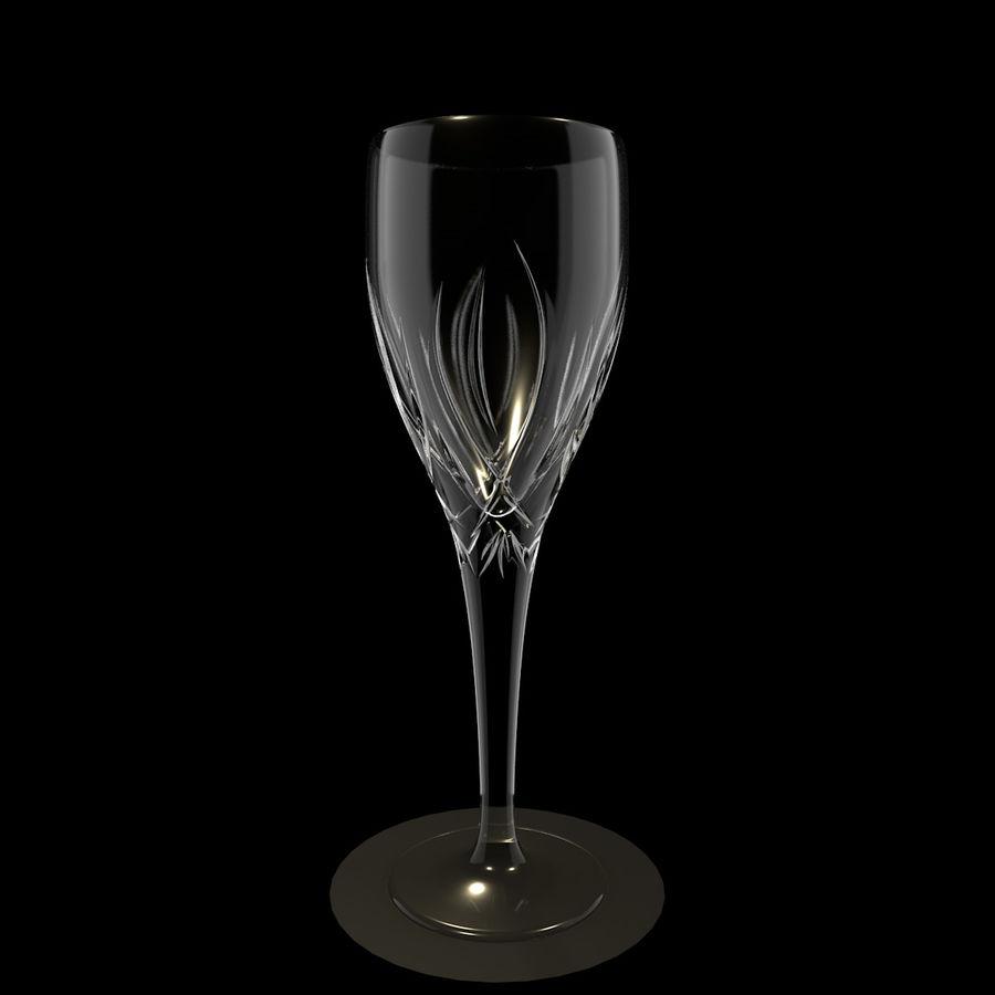 Verre de vin royalty-free 3d model - Preview no. 2
