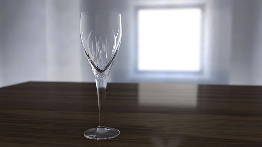 Verre de vin royalty-free 3d model - Preview no. 5