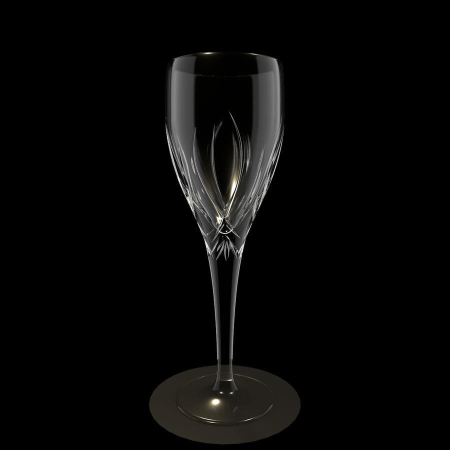 Бокал для вина royalty-free 3d model - Preview no. 1