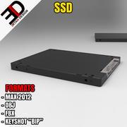 固态硬盘 3d model