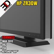 HP ZR30w MONITOR 3d model
