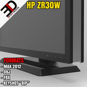 HP ZR30w MONITOR 3d model