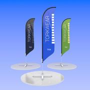 Bannière extérieure V3 3d model