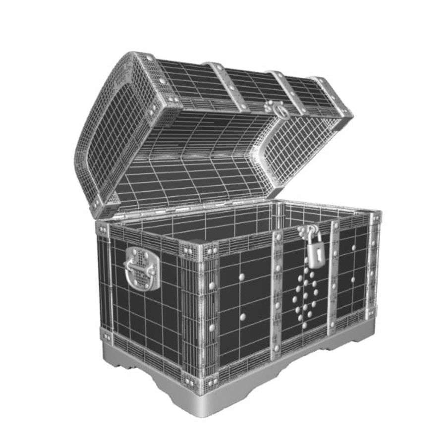 Crate Chest royalty-free 3d model - Preview no. 8