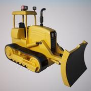 Spychacz 3d model