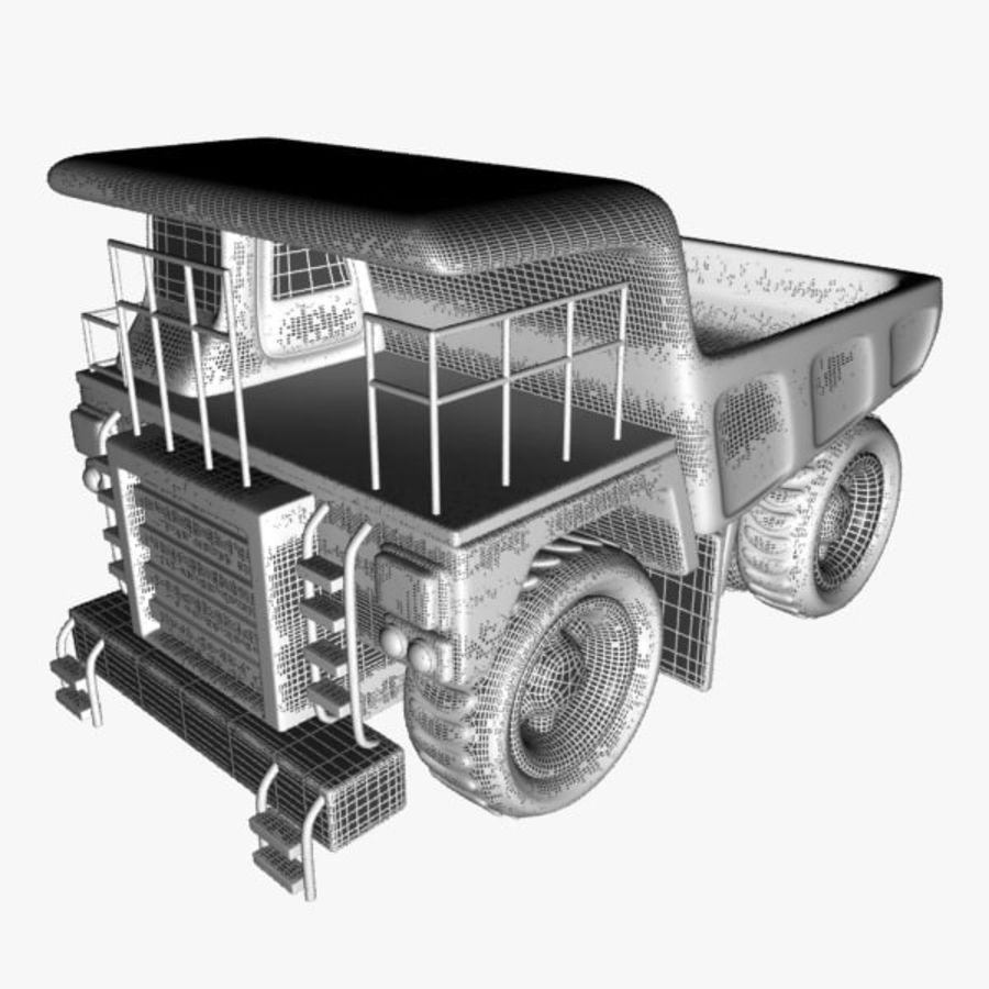 Haul Truck royalty-free 3d model - Preview no. 11