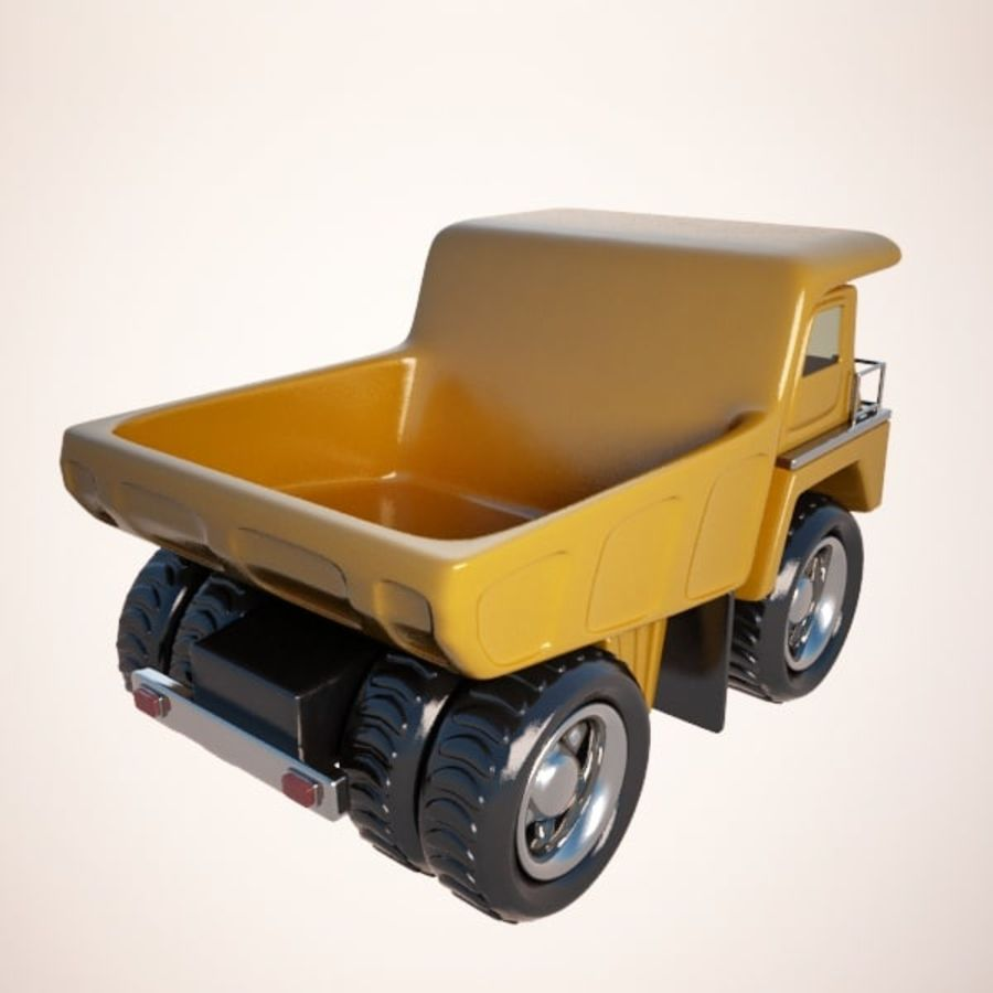 Haul Truck royalty-free 3d model - Preview no. 6