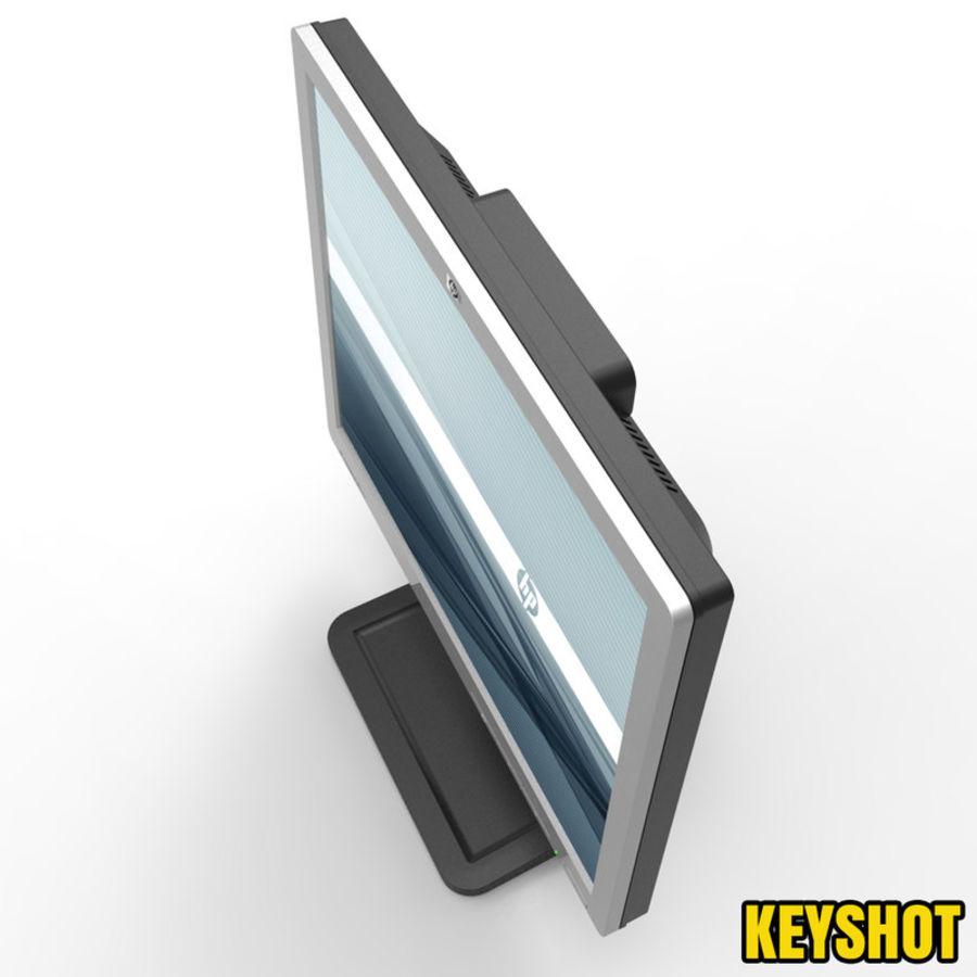 HP COMPAQ LE1711 royalty-free 3d model - Preview no. 4