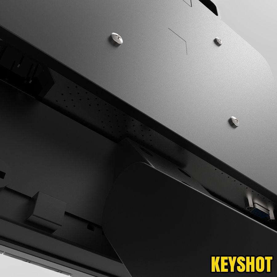 HP COMPAQ LE1711 royalty-free 3d model - Preview no. 9