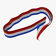 Medal Ribbon 3 3D Model 3d model