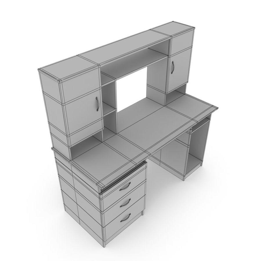 Tavolo per computer royalty-free 3d model - Preview no. 9