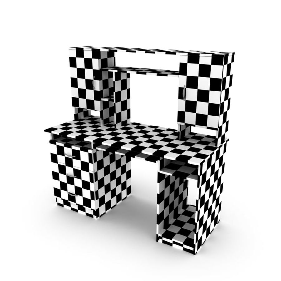 Tavolo per computer royalty-free 3d model - Preview no. 6