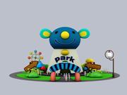 Cartoon Park 3d model