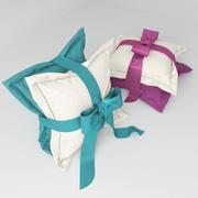 Almohadas modelo 3d