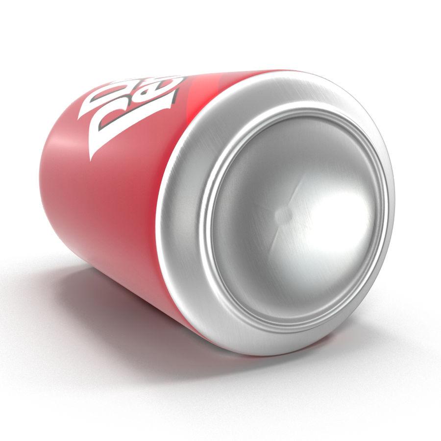 알루미늄 캔 0.33L Dr Pepper 3D 모델 royalty-free 3d model - Preview no. 10