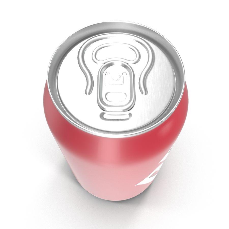 알루미늄 캔 0.33L Dr Pepper 3D 모델 royalty-free 3d model - Preview no. 8