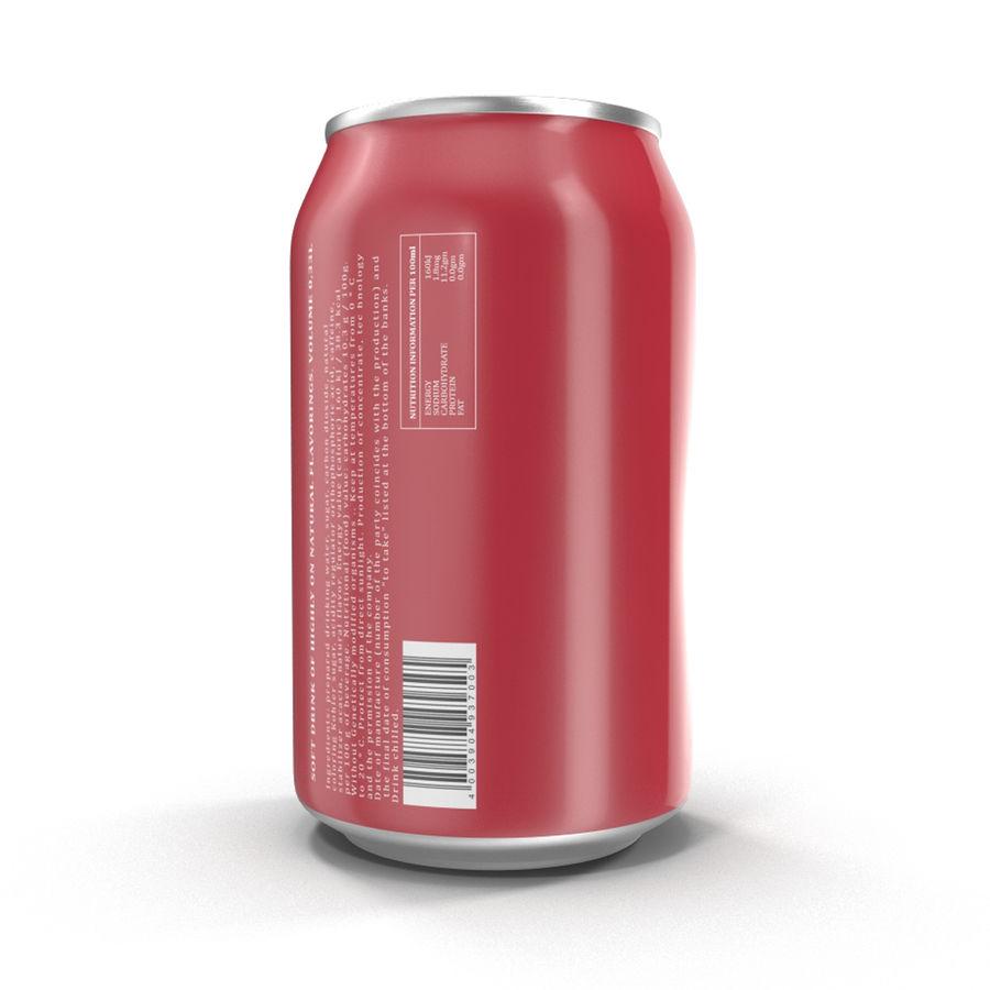 알루미늄 캔 0.33L Dr Pepper 3D 모델 royalty-free 3d model - Preview no. 7