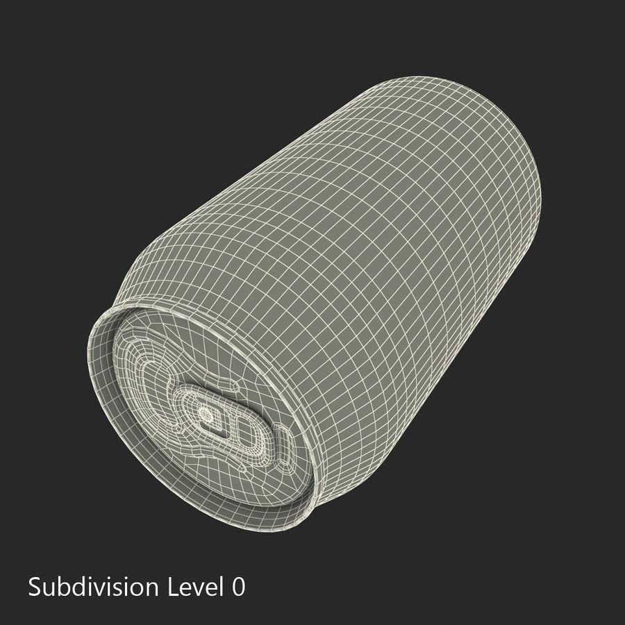 알루미늄 캔 0.33L Coca Cola 3D 모델 royalty-free 3d model - Preview no. 13