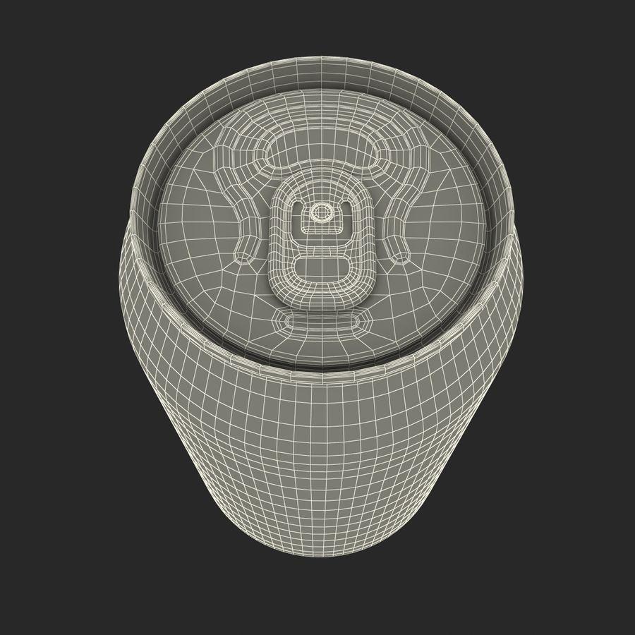 알루미늄 캔 0.33L Coca Cola 3D 모델 royalty-free 3d model - Preview no. 19