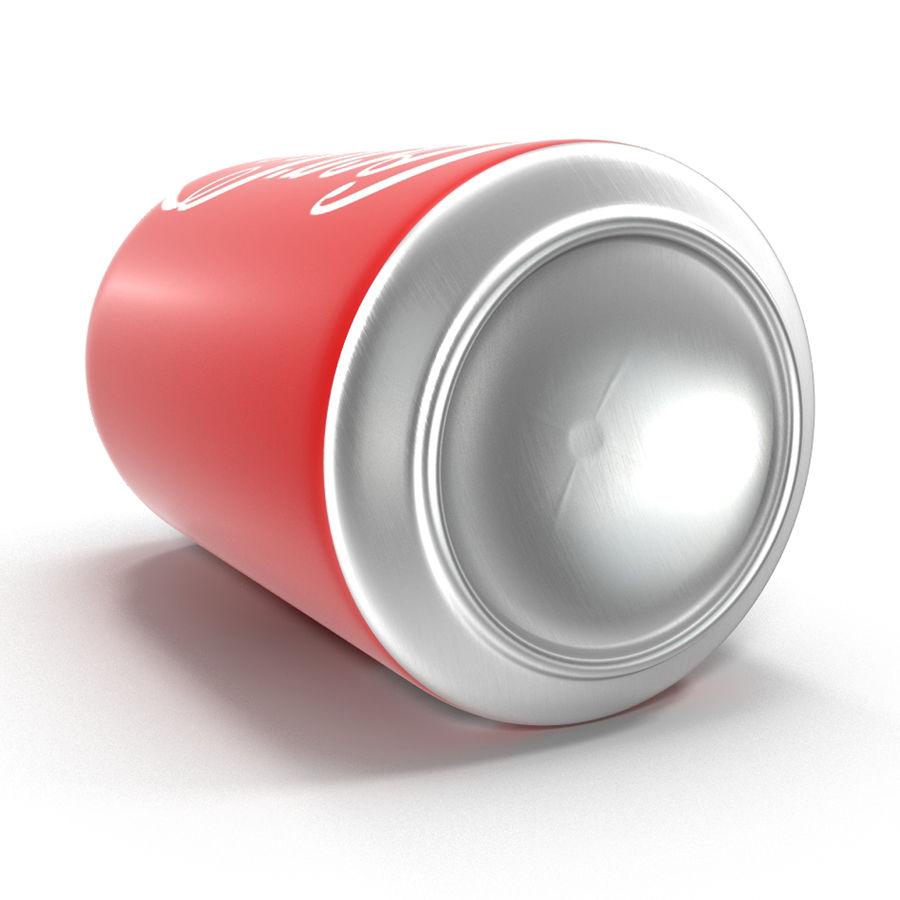 알루미늄 캔 0.33L Coca Cola 3D 모델 royalty-free 3d model - Preview no. 9
