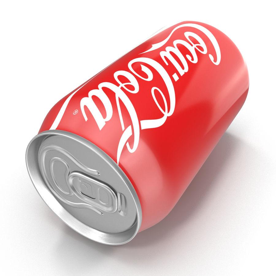 알루미늄 캔 0.33L Coca Cola 3D 모델 royalty-free 3d model - Preview no. 10