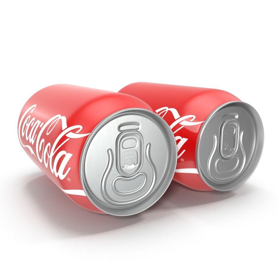 알루미늄 캔 0.33L Coca Cola 3D 모델 royalty-free 3d model - Preview no. 6
