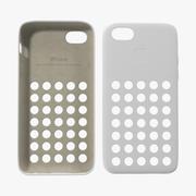 Custodia iPhone 5c Modello 3D bianco 3d model
