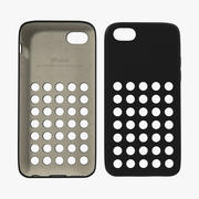 Custodia iPhone 5c Modello 3D nero 3d model