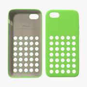 Custodia iPhone 5c Verde Modello 3D 3d model
