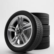 Tesla wheel 3d model