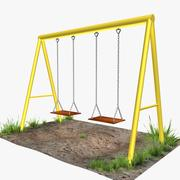 Parc Swing 3d model