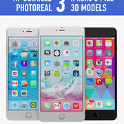Apple iPhone 6 plus modelo 3d