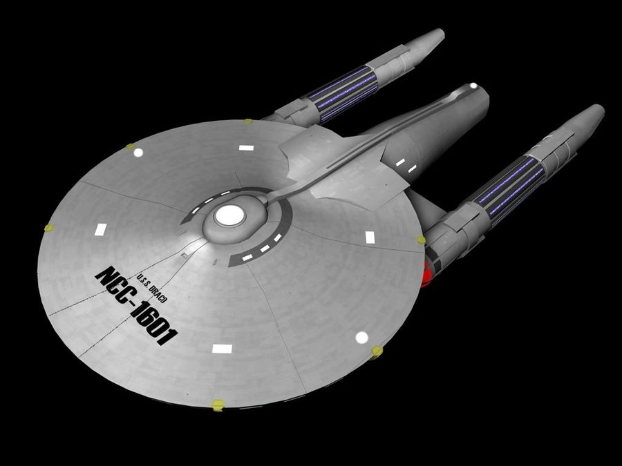 USS Draco royalty-free 3d model - Preview no. 1