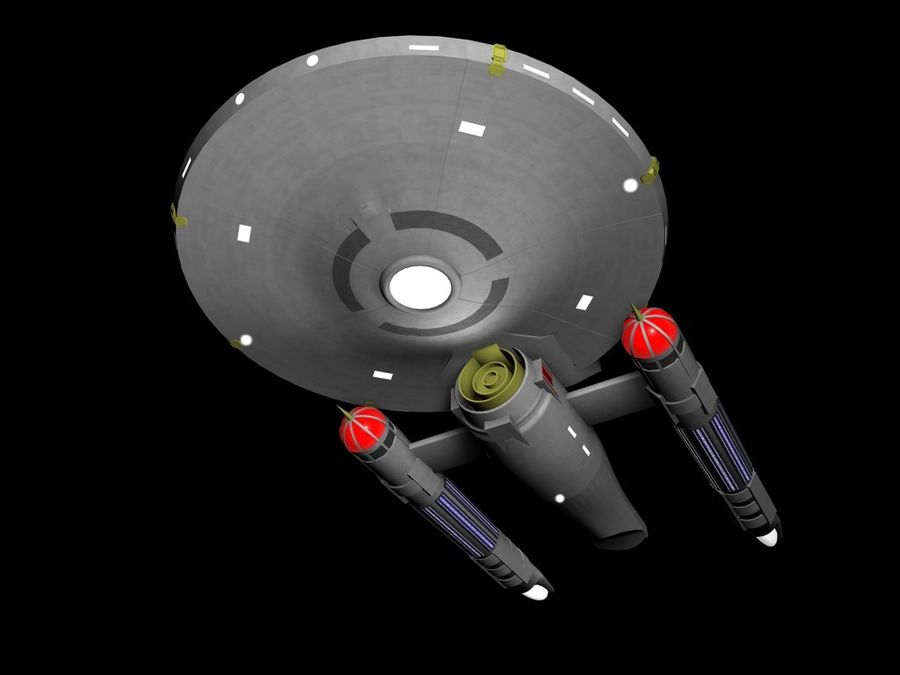 USS Draco royalty-free 3d model - Preview no. 2