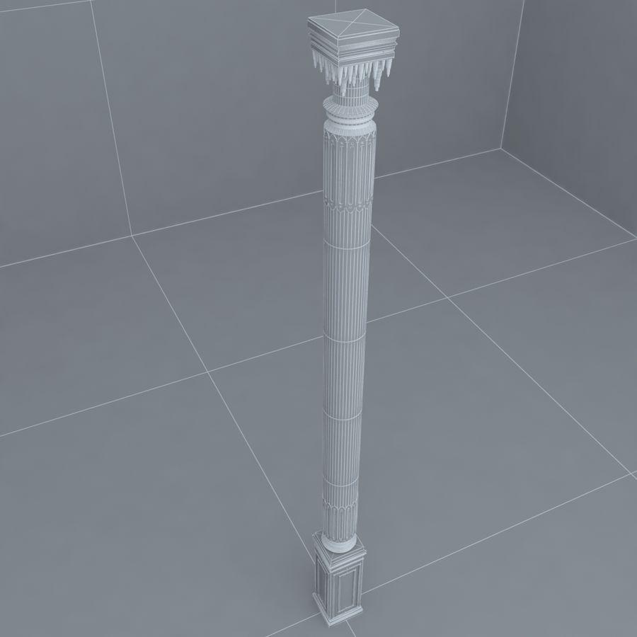 column 1 royalty-free 3d model - Preview no. 7