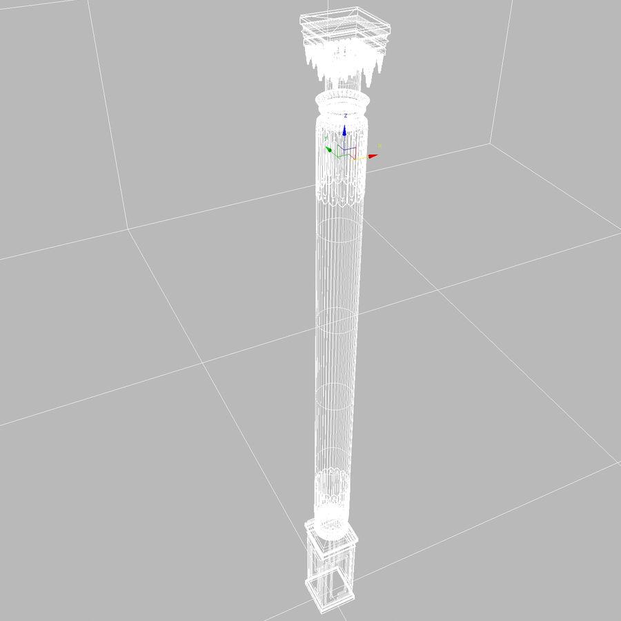 column 1 royalty-free 3d model - Preview no. 11