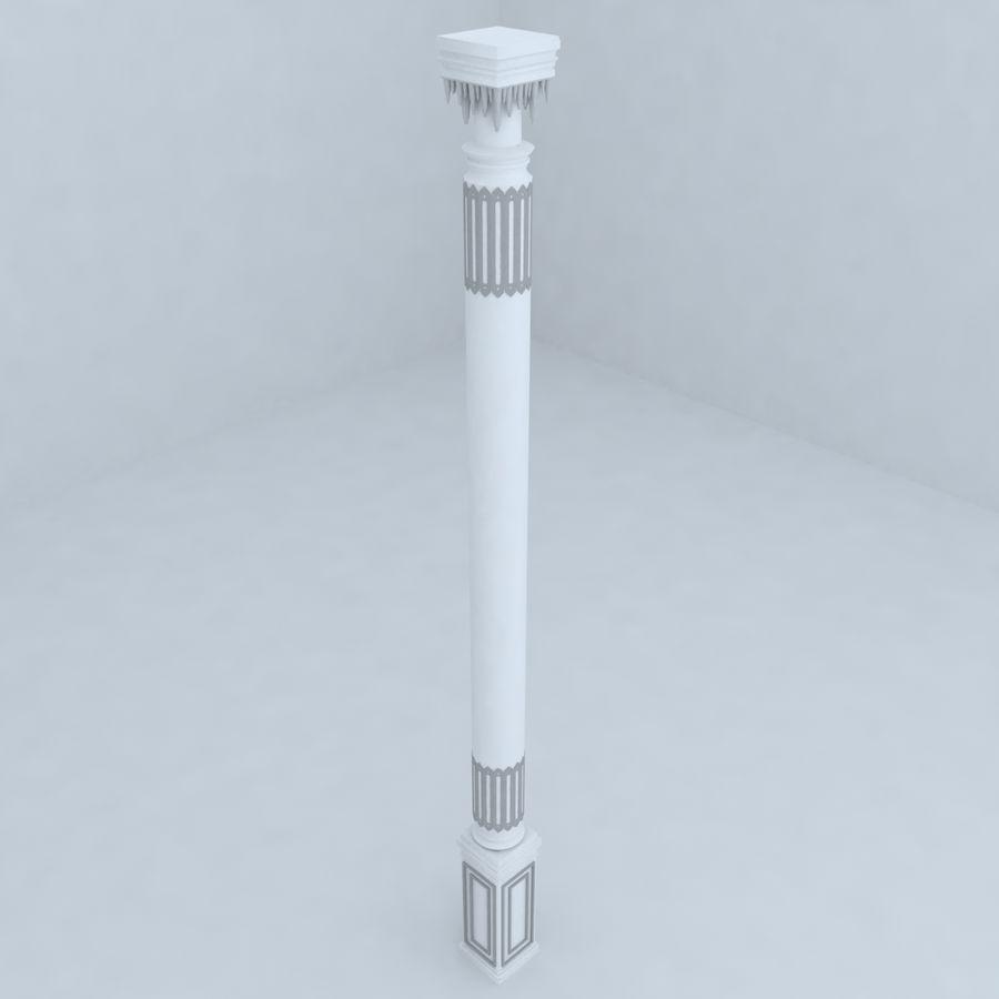 column 1 royalty-free 3d model - Preview no. 2