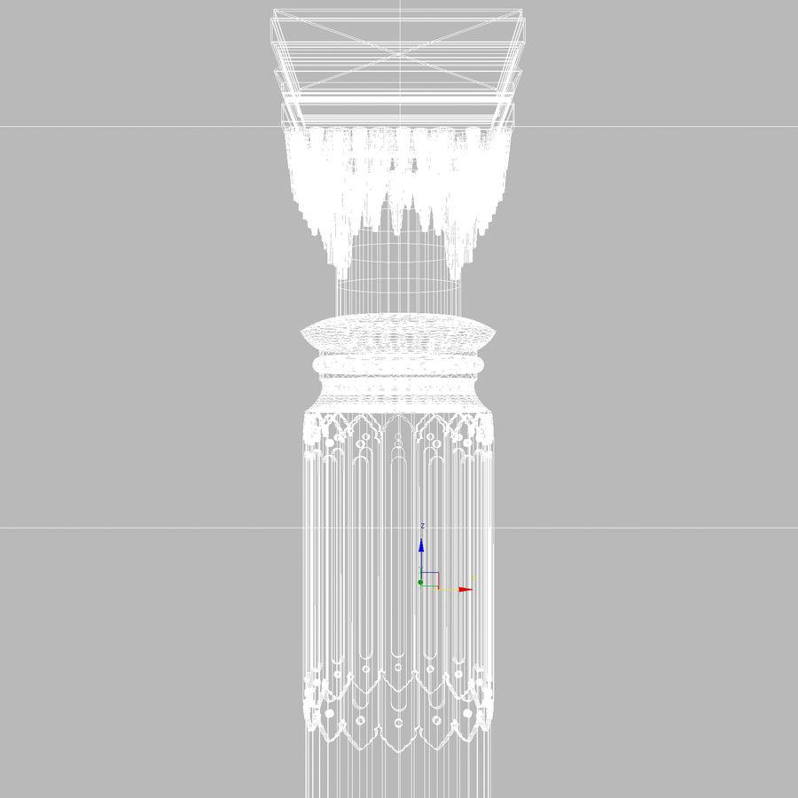 column 1 royalty-free 3d model - Preview no. 12