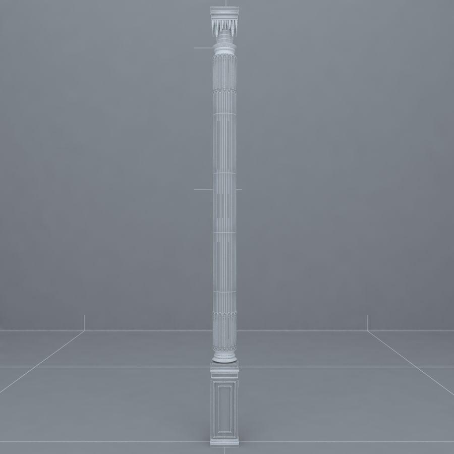column 1 royalty-free 3d model - Preview no. 5