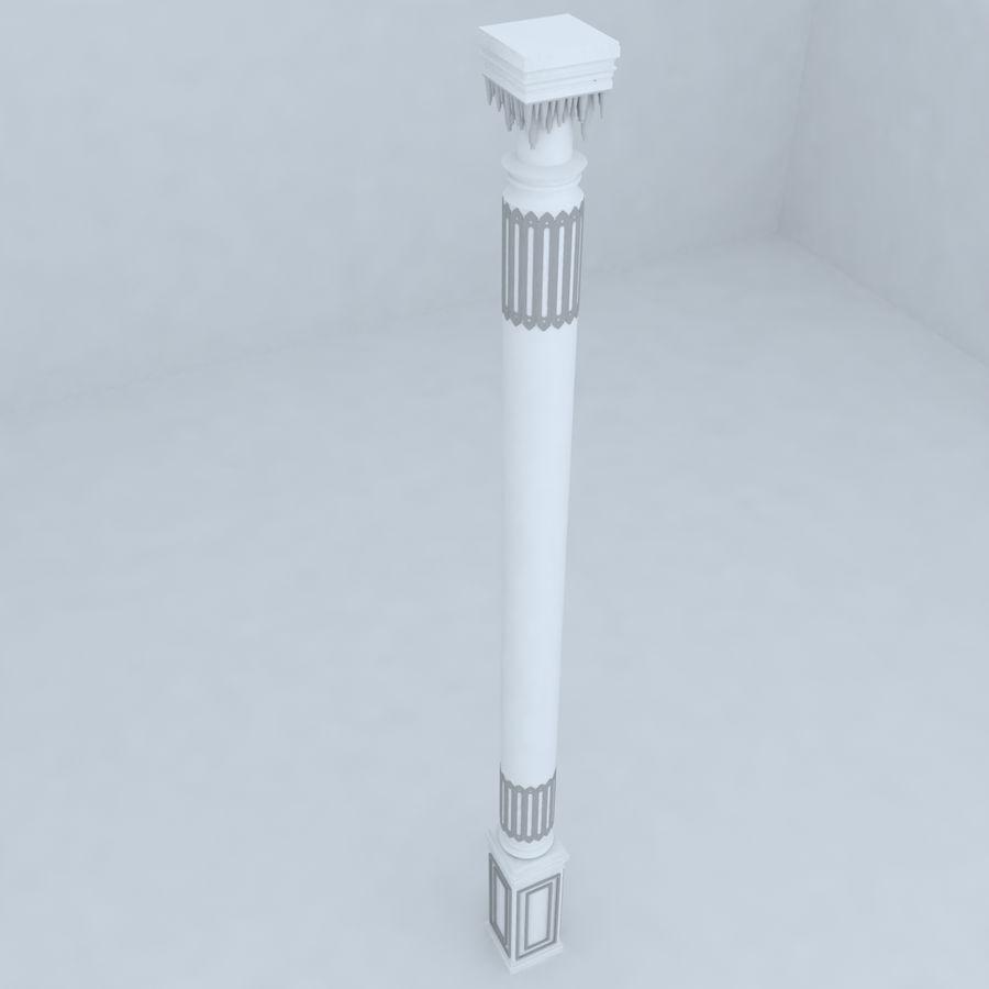 column 1 royalty-free 3d model - Preview no. 3