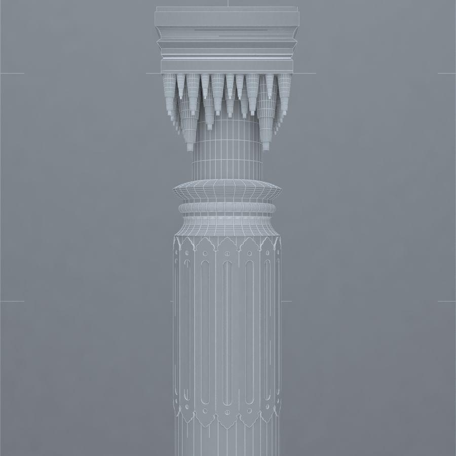 column 1 royalty-free 3d model - Preview no. 8
