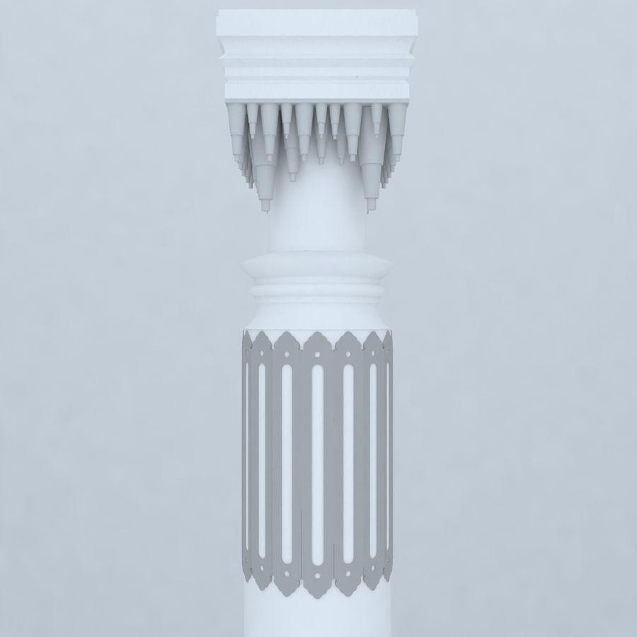 column 1 royalty-free 3d model - Preview no. 4