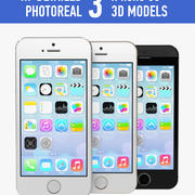 Apple iPhone 5s 3d model