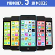 Apple iPhone 5c modelo 3d