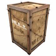 Heavy Wooden Box 1 3d model