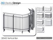 Pręt pionowy balustrady 3DMD V4,5 3d model