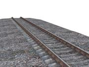 Cocnrete rail 3d model